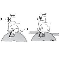 Магнитный набор точной установки ножей фуговальных фрез