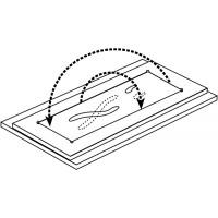RCS фреза концевая для гравировки по шаблонам