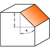 Фрезы фасочные угловые 45°