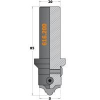 Ножи твердосплавные сменные для набора 616.000.01 и корпус фрезы 616.200