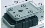 Блочная Присоска VCBL-K1 140x115