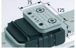 Блочная Присоска VCBL-K1 125x75