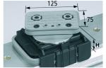 Блочная Присоска VCBL-K2 125x75 D-360