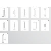 95025 Ролики для закатки уплотнительной резины (уплотнителя) в ПВХ и Al профиль, для закатки москитной сетки